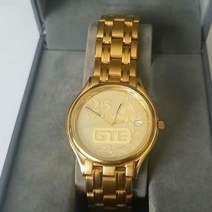 GTE 25 Years of Service Mens Gold Watch